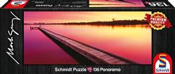 SCHMIDT PUZZLE -  CANNING RIVER, WESTERN AUSTRALIA, AUSTRALIA (136 PIÈCES)