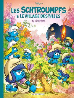 SCHTROUMPFS & LE VILLAGE DES FILLES, LES -  LE CORBEAU 03