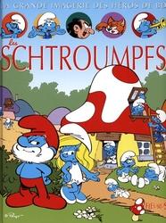 SCHTROUMPFS -  LES SCHTROUMPFS -  GRANDE IMAGERIE DES HÉROS DE BD, LA