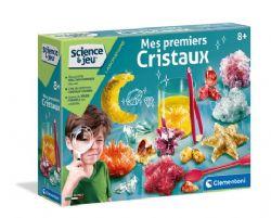 SCIENCE & JEU -  MES PREMIERS CRISTAUX (FRANÇAIS)