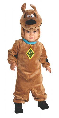 SCOOBY-DOO -  COSTUME DE SCOOBY-DOO (JEUNE ENFANT - 12 - 18 MOIS)