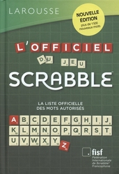 SCRABBLE -  L'OFFICIEL DU JEU SCRABBLE