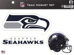 SEAHAWKS DE SEATTLE -  ENSEMBLE D'AIMANTS