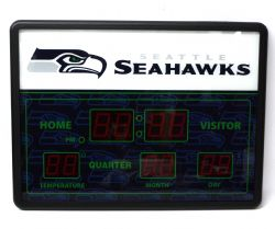 SEAHAWKS DE SEATTLE -  HORLOGE