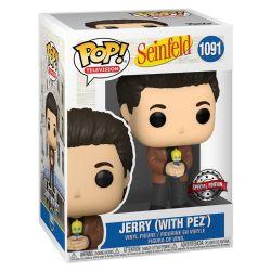 SEINFELD -  FIGURINE POP! EN VINYLE DE JERRY (AVEC PEZ) (10 CM) 1091