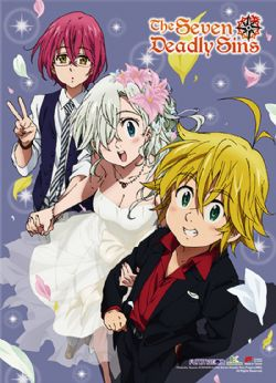 SEVEN DEADLY SINS -  -STYLE MARIAGE- (83.8CM X 111.7CM)