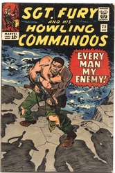 SGT. FURY AND HIS HOWLING COMMANDOS -  SGT. FURY AND HIS HOWLING COMMANDOS (1965) - FINE/VERY FINE - 7.0 25