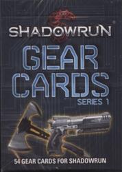 SHADOWRUN -  GEAR CARDS - SERIES 1 -  SHADOWRUN 5E EDITION