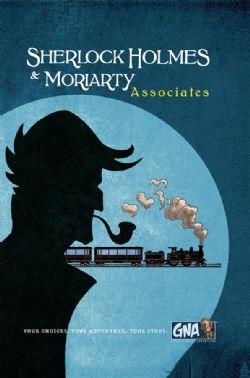 SHERLOCK HOLMES & MORIARTY -  ASSOCIATES (ANGLAIS)
