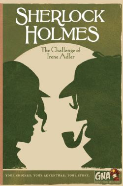 SHERLOCK HOLMES -  THE CHALLENGE OF IRENE ADLER (ANGLAIS)