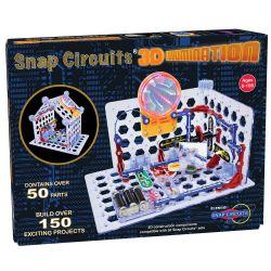 SNAP CIRCUIT -  3D ILLUMINATION (BILINGUE)