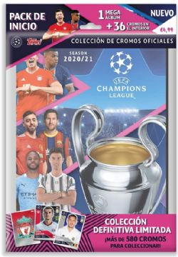 SOCCER 2020 -  CHAMPIONS LEAGUE - STICKERS STARTER PACK