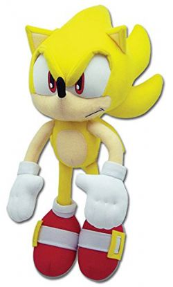 SONIC THE HEDGEHOG -  PELUCHE SUPER SONIC (30 CM)