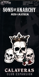 SONS OF ANARCHY -  MEN OF MAYHEM - THE GAME - CALAVERAS CLUB EXPANSION