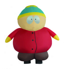 SOUTH PARK -  COSTUME GONFLABLE DE CARTMAN  (ADULTE - TAILLE UNIQUE)