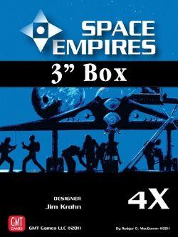 SPACE EMPIRES: 4X -  BOITE DE 7.5 CM (VIDE)