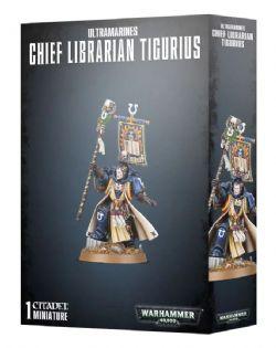 SPACE MARINES -  CHIEF LIBRARIAN TIGURIUS -  ULTRAMARINES