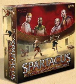 SPARTACUS : A GAME OF BLOOD AND TREACHERY -  JEU DE BASE (ANGLAIS)