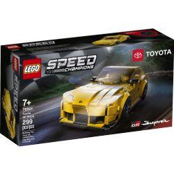 SPEED CHAMPIONS -  TOYOTA GR SUPRA (299 PIÈCES) 76901