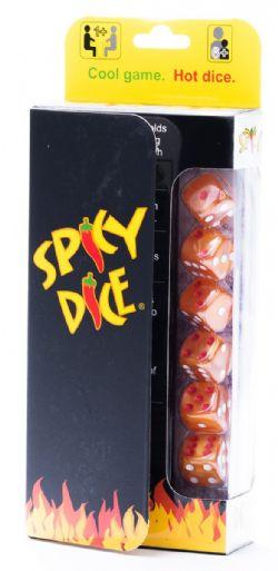 SPICY DICE -  ORANGE (ANGLAIS)