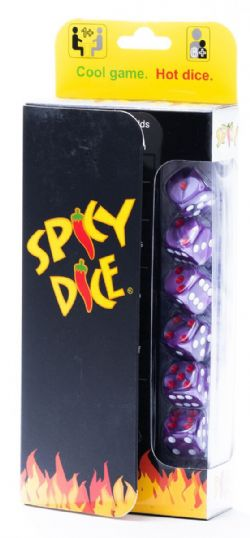 SPICY DICE -  VIOLET (ANGLAIS)