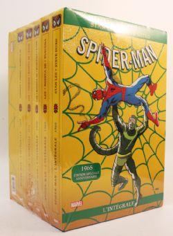 SPIDER-MAN -  COLLECTION D'ALBUMS USAGÉS DES 50 ANS DE SPIDER-MAN