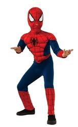 SPIDER-MAN -  COSTUME DE SPIDER-MAN AVEC MUSCLE(ENFANT)