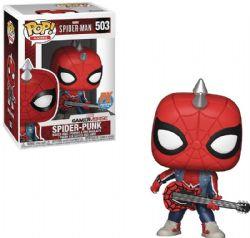 SPIDER-MAN -  FIGURINE POP! EN VINYLE DE SPIDER-PUNK (10 CM) -  PX EXCLUSIVE 503