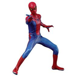 SPIDER-MAN -  FIGURINE SPIDER-MAN AVEC ACCESSOIRES - 1/6 SCALE -  THE AMAZING SPIDER-MAN