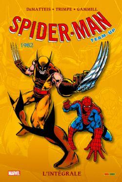 SPIDER-MAN -  INTÉGRALE 1982 -  TEAM-UP