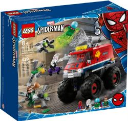 SPIDER-MAN -  LE CAMION MONSTRE DE SPIDER-MAN CONTRE MYSTÉRIO (439 PIÈCES) 76174