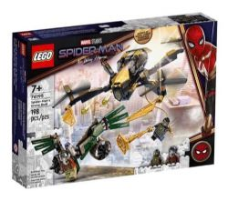 SPIDER-MAN -  LE DUEL EN DRONE DE SPIDER-MAN (198 PIÈCES) 76195
