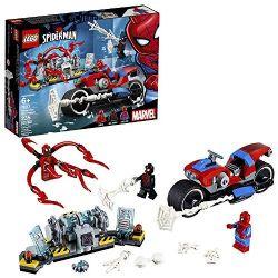 SPIDER-MAN -  LE SAUVETAGE EN MOTO DE SPIDER-MAN (235 PIÈCES) 76113