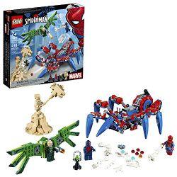 SPIDER-MAN -  LE VÉHICULE ARAIGNÉE DE SPIDER-MAN (418 PIÈCES) 76114