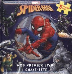 SPIDER-MAN -  MON PREMIER LIVRE CASSE-TÊTE