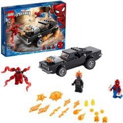 SPIDER-MAN -  SPIDER-MAN ET GHOSTRIDER CONTRE CARNAGE (212 PIÈCES) 76173