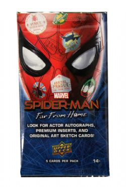 SPIDER-MAN -  UPPER DECK TRADING CARDS (P5/B15) -  SPIDER-MAN: FAR FROM HOME