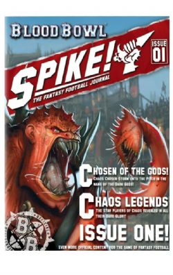 SPIKE! THE FANTASY FOOTBALL JOURNAL -  ISSUE 1 (ANGLAIS)