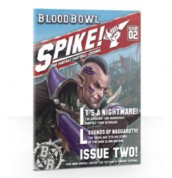 SPIKE! THE FANTASY FOOTBALL JOURNAL -  ISSUE 2 (ANGLAIS)