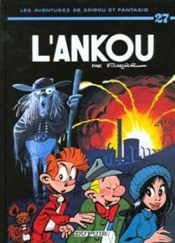 SPIROU ET FANTASIO -  LIVRE USAGÉ - L'ANKOU (FRANÇAIS) 27