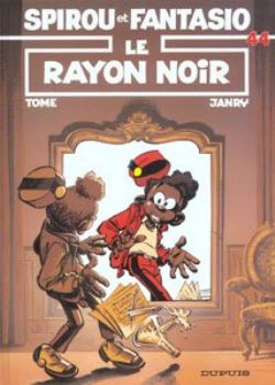 SPIROU ET FANTASIO -  LIVRE USAGÉ - LE RAYON NOIR (FRANÇAIS) 44