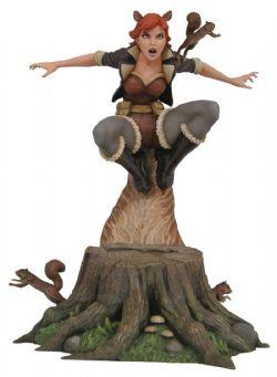 SQUIRREL GIRL -  STATUE DE SQUIRREL GIRL EN PVC (22CM) -  MARVEL GALLERY