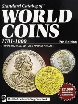 STANDARD CATALOG OF -  1701-1800 (7TH EDITION) -  WORLD COINS 02