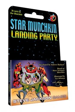 STAR MUNCHKIN -  LANDING PARTY (ANGLAIS)