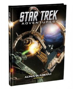 STAR TREK ADVENTURES -  ALPHA QUADRANT SOURCEBOOK (ANGLAIS)