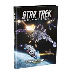 STAR TREK ADVENTURES -  GAMMA QUADRANT - SOURCEBOOK (ANGLAIS)