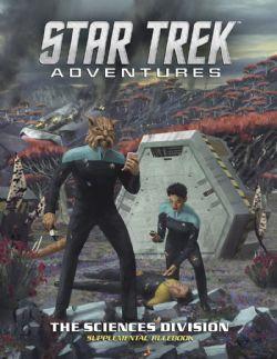STAR TREK ADVENTURES -  THE SCIENCES DIVISION (ANGLAIS)
