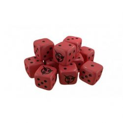 STAR TREK ASCENDANCY -  KLINGON DICE PACK (ANGLAIS)