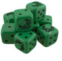 STAR TREK ASCENDANCY -  ROMULAN DICE PACK (ANGLAIS)