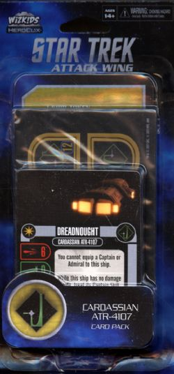 STAR TREK : ATTACK WING -  CARDASSIAN ATR-4107 (ANGLAIS) -  DOMINION